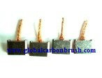 Carbon brushes Starter Bosch 4,6x16x11,5/12,2,carbon brush for starter,BOSCH starter carbon brush