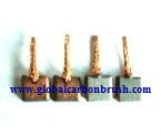 Carbon brushes Starter Bosch 5x12x10,9/11,6,carbon brush for starter,BOSCH starter carbon brush